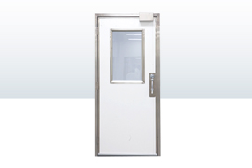 Single Swinging Doors