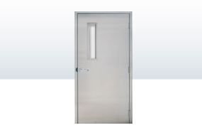 Stainless Steel Single Swing Door